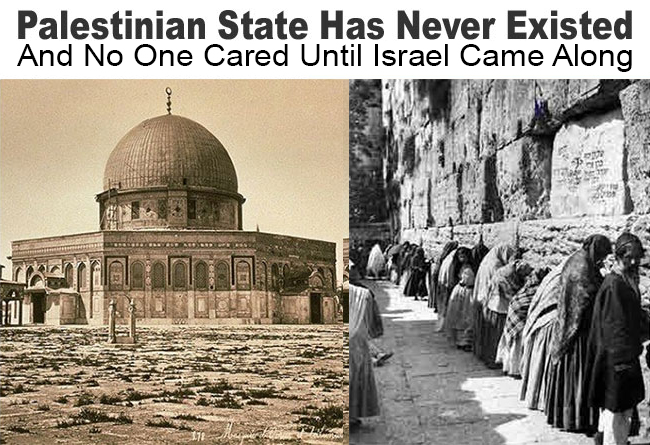 palestinian state never existed